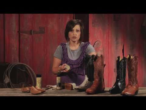Sheplers How To - Exotic Cowboy Boot Care
