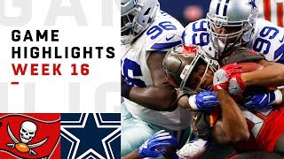 Buccaneers vs. Cowboys Week 16 Highlights