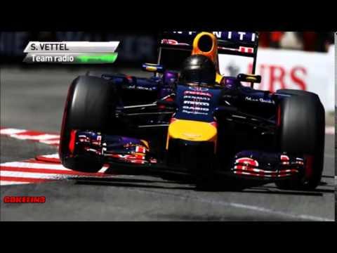 [Team Radio] Vettel's Engine problem - Monaco 2014