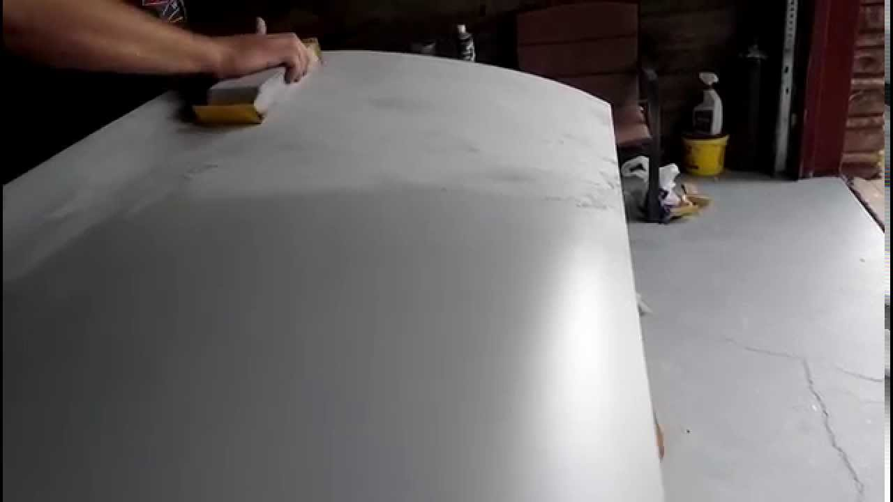 How I block sand primer for paint  Get it straight