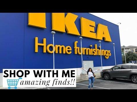 IKEA! SHOP WITH ME! IKEA HOME DECOR! 2018