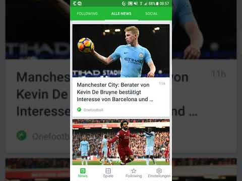 """Was Kann """"Onefootball""""? Auf Der Suche Nach Der Besten Fußball-App Für Android Und IPhone Im Test"""