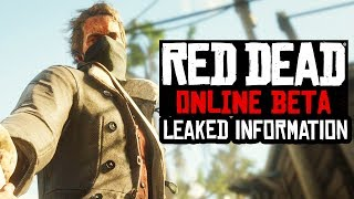 Red Dead Redemption 2 ONLINE GETS LEAKED! - RANKS, MISSIONS, BUYING STABLES & MORE!