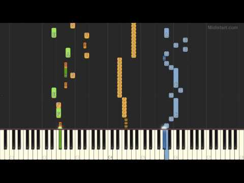 Cosma Vladimir - Sirba (Instrumental Tutorial) [Synthesia]