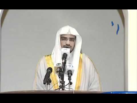 خطبة الجمعة لشيخ صالح بن عواد المغامسي