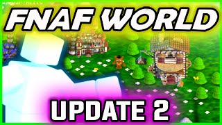 FNAF WORLD UPDATE 2, Scottgames Teasers, NEW Projects & More