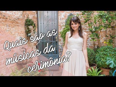{VLOG} Os momentos ais da cerimônia de casamento  Música para Casar por Lorenza Pozza