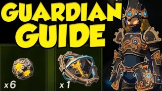 COMPLETE Ancient Armor / Ancient Weapon Guide for Legend of Zelda Breath of the Wild!