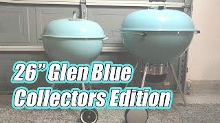 "Weber's NEW 26"" GLEN BLUE IMPERIAL - Collectors / Weber Kettle Club Edition screenshot 4"