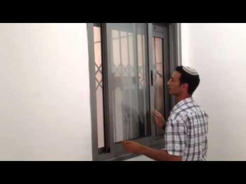 טוב מאוד רשת נגד יתושים לחלון הזזה - YouTube FY-87