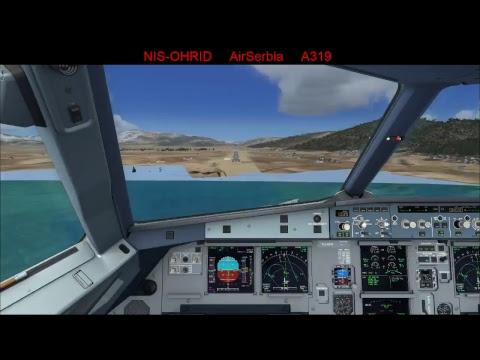 FSX: Nis to Ohrid  Air Serbia A319