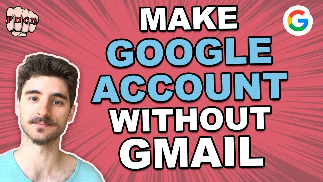 Sign up without gmail