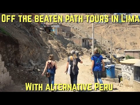 Off the beaten path tours in Lima with Alternative Peru (Video 33)