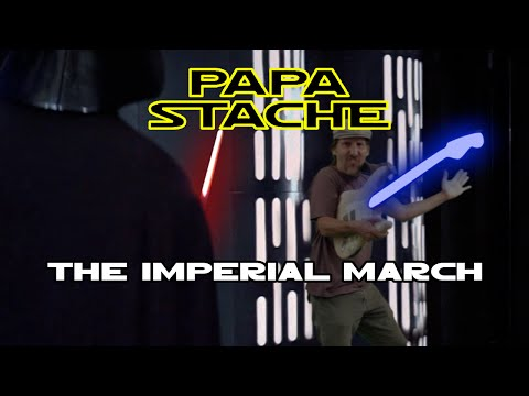Star Wars - The Imperial March - (Darth Vader's Theme Song) - Guitar Lesson - EASY