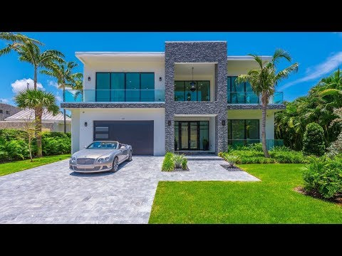 Sensational contemporary luxury waterfront home in Fort Lauderdale, FL