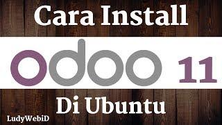 Cara Install Odoo 11 Di Ubuntu