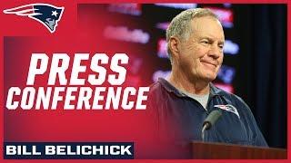 Bill Belichick Press Conference 8/13