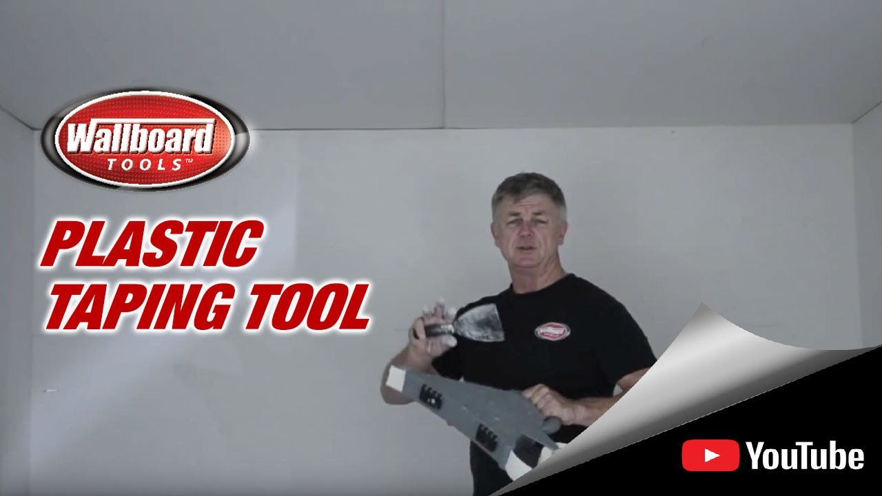 Using The Wallboard Plastic Taping Tool Youtube