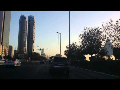 Driving Through Abu Dhabi 2015 4K