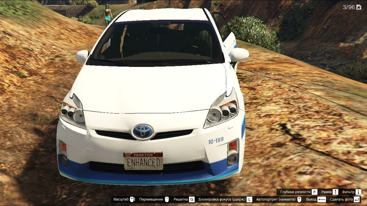 Gta 5 Toyota Prius Security Car Pack Youtube