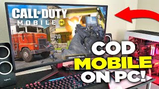 How to Play Call of Duty Mobile on PC (Tutorial - Download and Install)