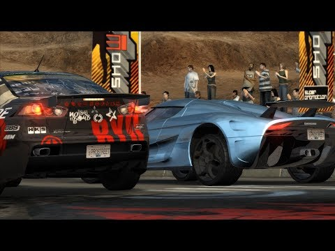 Need For Speed ProStreet: 2354HP Koenigsegg Regera vs Ryo Watanabe's Evo X (Showdown King)