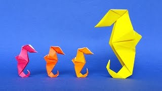 How to make an Origami Seahorse - Tutorial - Stéphane Gigandet