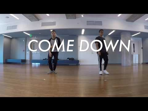 Come Down - Anderson .Paak | Choreo Video