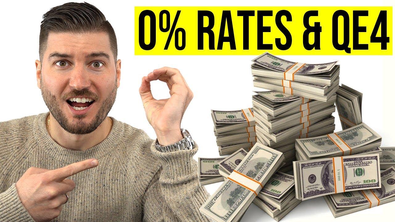 Fed Cuts Rates to ZERO! Announces $700 BILLION Quantitative Easing!