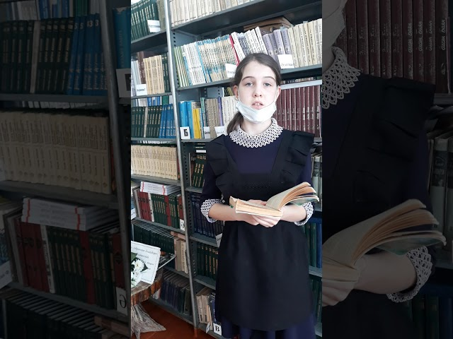 Изображение предпросмотра прочтения – ВалерияПелькина читает отрывок изпроизведения «Малахитовая шкатулка» П.П.Бажова