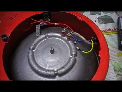 วิธีการซ่อมกระทะไฟฟ้า (ปฏิบัติ 1 )ปลั๊กเสียบไฟ AC