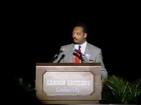 Landon Lecture | Rev. Jesse Jackson