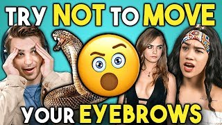 Download Try Not To Move Your Eyebrows Challenge Mp3 and Videos