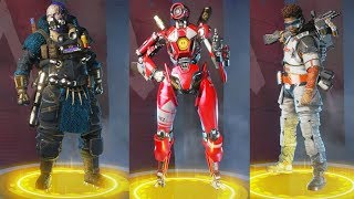 Apex Legends All Legendary Epic Rare Costumes Skins