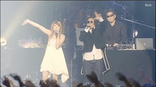 BoA the LIVE - 20th Birthday (2006) 裏ボア---聴かせ系 BoA launched a special Zepp tour, BoA The Live, on September 29, 2006. The tour, which lasted until ...