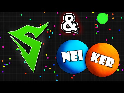 NeiKer + Sirius = SiriusKer // Agario Highscore Gameplay (Agar.io)