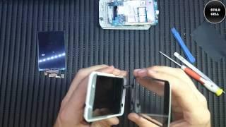 Lg Optimus L4 II E470 Troca do Display remoção do touch