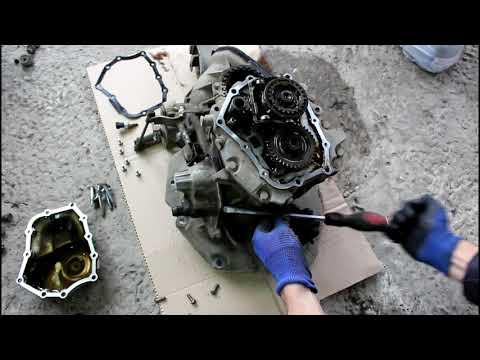 Стук в коробке замена подшипников в МКПП  2часть  Chevrolet Lanos Шевроле Ланос 2008 года