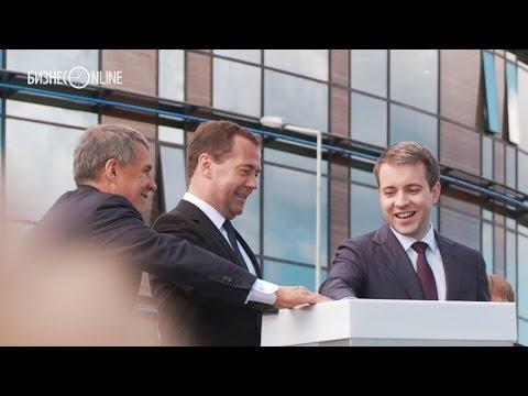 Медведев, Минниханов и Никифоров открыли город Иннополис