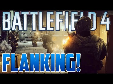 How to Flank! - Locker Tips and Tricks Battlefield 4 (Xbox One)