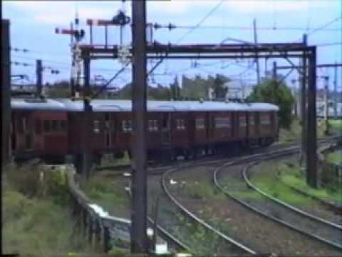 Chullora Junction workshops train.