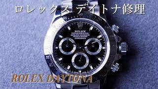 ROLEX-デイトナの中身はどうなっているのか?業界初分解動画公開!!
