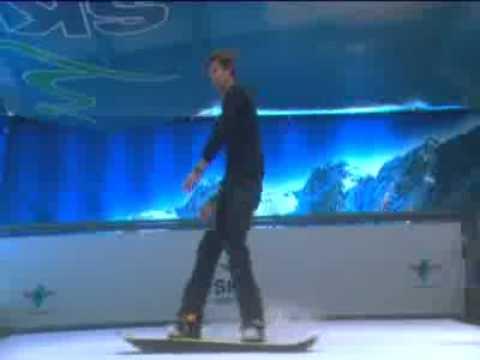 Snowboarding in Dublin Ski Centre