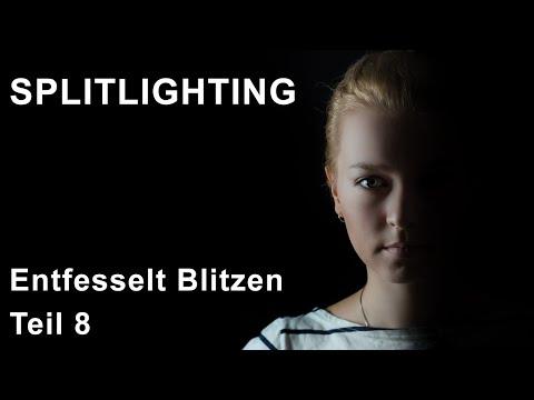 Das Splitlighting. Lichtsetup.