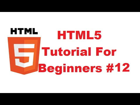 HTML5 Tutorial For Beginners 12 # Using div Tags to Layout header, navigation, section and footer