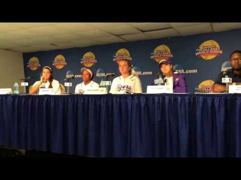 "Beth Torina says ""we understand why Lauren Haeger is the Player of the Year"""