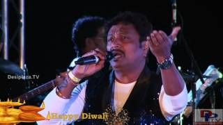Chetan Rana singing Ek Chatur Naar Badi Hoshiyaar song at DFWICS Diwali Mela 2015 at Dallas.