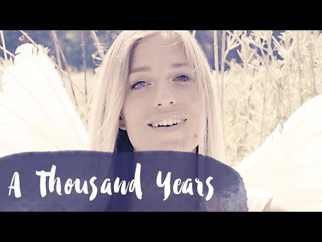 A Thousand Years Christina Perri Cover Hochzeit Hochzeitstanz Lieder Modern Engelsgleich 29 Youtube