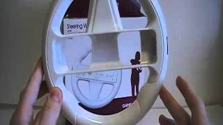 GAMEWare Steering Wheel For Wii Review