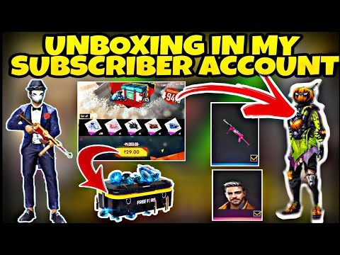 unboxing-in-subscriber-account-||-how-to-get-free-dress-bundle-||-how-to-get-permanent-gun-skin-||